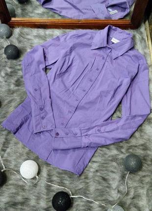 Рубашка блуза трендового фиолетового оттенка