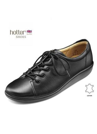 3730 туфлі hotter 40 шкіра нові сток