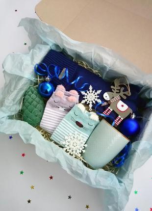 Новогодний подарочный набор/подарочный бокс