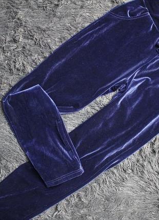 Спортивные велюровые штаны 146 рост