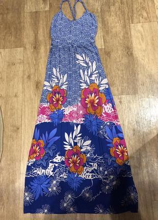 Трикотажное платье next prtite