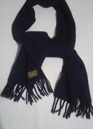 Шарф мужской sir alec sportwear шерстяной классический тканый базовый шалик3 фото