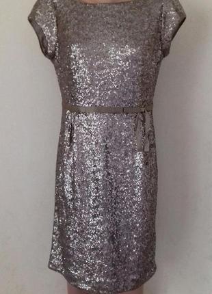 Новое шикарное платье в пайетках coast