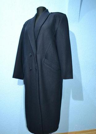 Пальто шерстяне оверсайз франція
