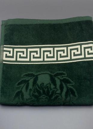 Полотенце махра велюр  версаче 50×90