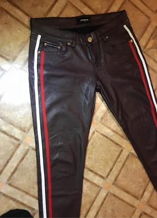 Брюки ,джинсы ,кожа (качественный кож зам)