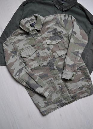 Стильна рубашка мілітарі