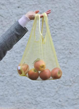 Еко-пакет пакет-майка еко-торбинка сіточка фруктівниця эко-пакет фруктовка сеточка