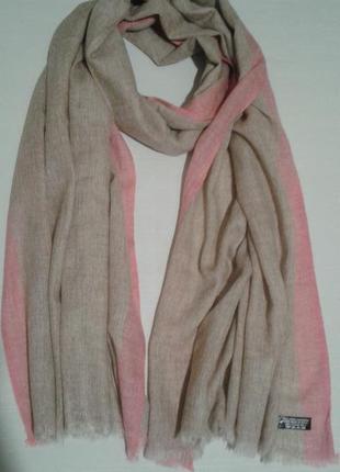 Шаль ручной работы exclusive cashemere nepal накидка палантин шарф