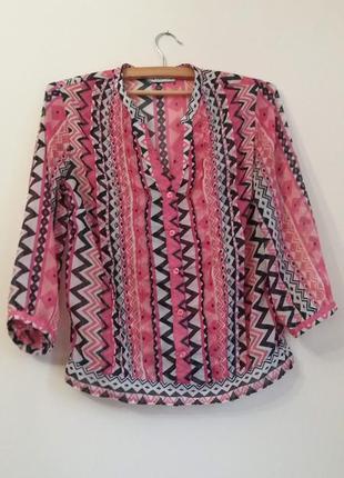 Літня шифонова блуза