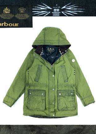 Barbour wax parka женская куртка