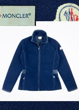 Moncler fleece jacket оригинальная женская флис куртка