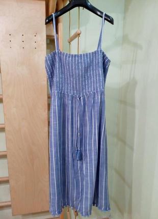 Красивое лёгкое платье на тонких бретелях 18