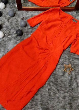 Платье с драпировкой marks & spencer
