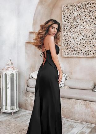 Шикарное атласное платье exclusive🔥