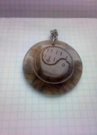 Кулон камень нат оникс