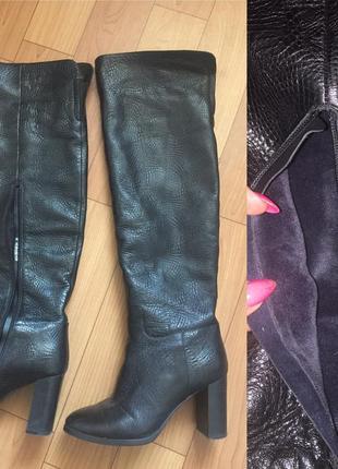 Сапоги кожаные,одетые от сиди раз 5