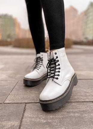 Ботинки dr martens jadon white