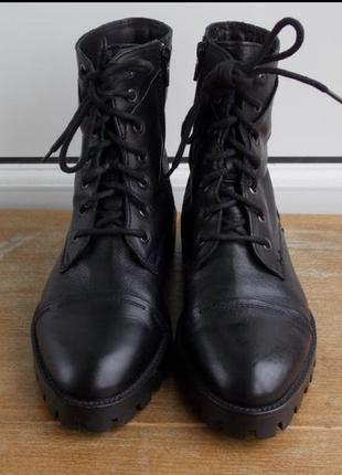 Pasito  ботинки осень (шкіра, італія)