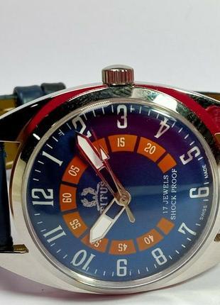 Мужские механические винтажные часы titus швейцарские 70s by 38 мм