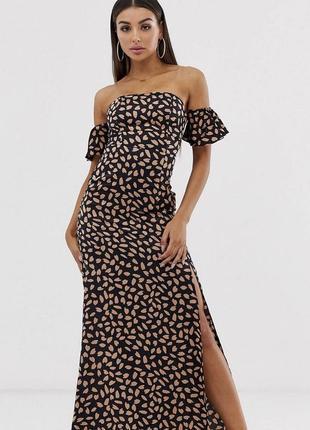 Свтиновое платье макси koko&k, размер 8