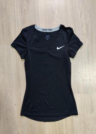 Женская футболка nike pro