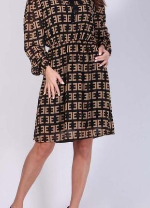 """_new_  обалденное!!! шифоное платье  от """" new collection"""""""