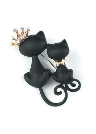 Большой выбор! стильный пин кот котик брошь значек брошка