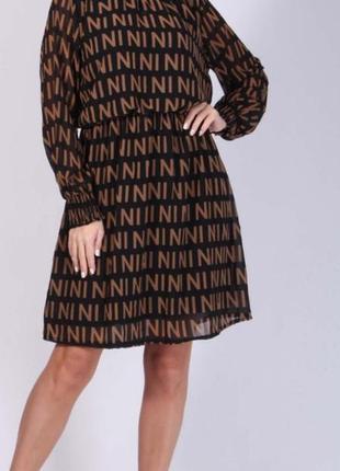 """_new_  стильное!!! шифоновое платье от """"new collection"""""""