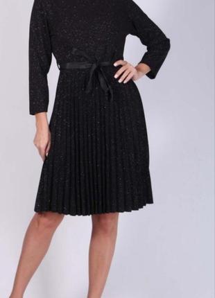 """_new_  красивое !!! вечернее платье с люрексом  от """"new collection"""""""