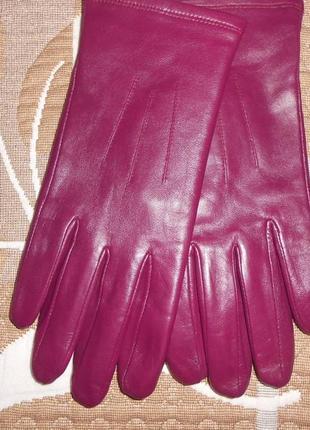 Кожаные перчатки, новые, м&s, м