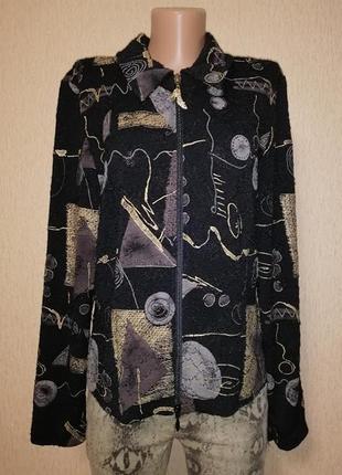 🔥🔥🔥красивая женская кофта, жакет, пиджак на молнии joseph ribkoff🔥🔥🔥
