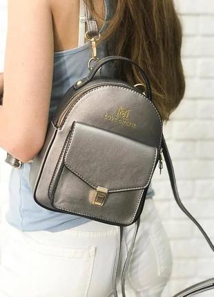 Клатч-рюкзак lovedream f-560 бронза