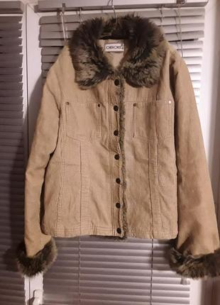 Брендовая вельветовая курточка