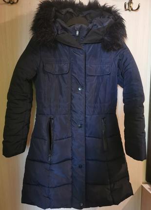 Зимнее пальто для девочки reserved