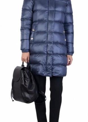 Оригинал пуховик armani jeans  пух белой утки s m l лёгкий пальто пуховое