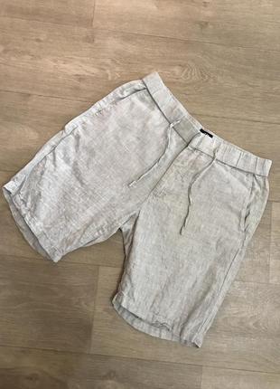 Классные шорты h&m лён