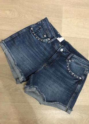 Новые джинсовые шорты h&m, p.40