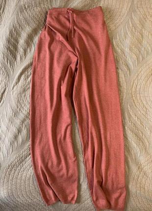 Вязаные штаны шёлк кашемир