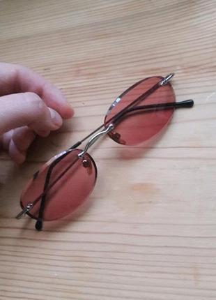 Супер крутые имиджевые очки стекло без диоптрий