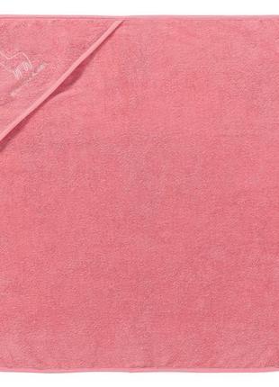 75*75, детское махровое полотенце с капюшоном от lupilu