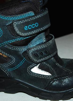 Ecco зимние ботинки ессо 27 размер