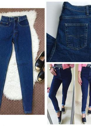 Стильные джинсы marks & spencer с высокой талией