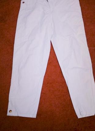 Летние укороченные брюки