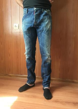 Сині джинси італія dsquared