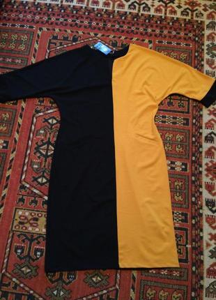 Платье р.56-58 креп-дайвинг