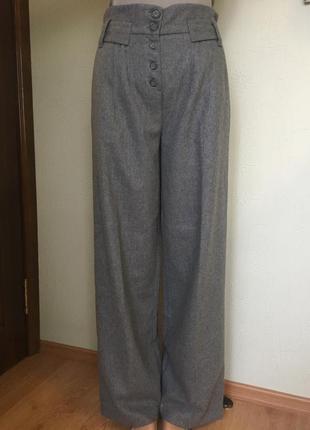 Шерстяные брюки topshop