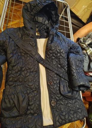 Пальто на синтепоні утеплене
