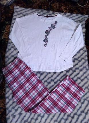 Женская комбинированная пижама
