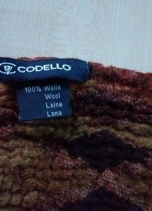 Codello  шерстяной шарф